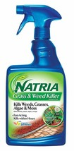Natria 706170A Ready-to-Use Grass & Weed Killer, 24-Ounce, Blue Bottle - $19.76