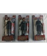 Mcfarlane Toys Game of Thrones GOT Arya Stark Jon Snow Night King Action... - $71.25