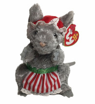 "Ty Janglemouse the Christmas Mouse Beanie Babies Plush 6"" Original Tags ... - $15.79"