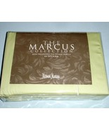 Sferra Marcus King Sheet Set 4 PC Solid Green 400TC 100% Cotton Sateen New - $224.90