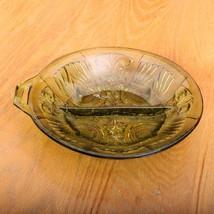 Green Indiana Glass Co Killarney 2 Way Divided ... - $28.04