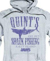 Jaws Movie Retro 70s Quints Shark Fishing Amity Island distressed hoodie UNI413 image 3