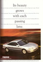 1994 Mazda MX-6 Silver Car Automobile Print Ad Vintage Advertisement 1990s - $7.92