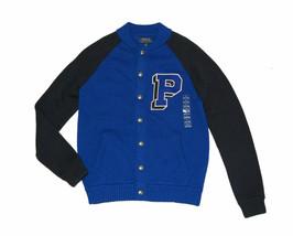 Polo Ralph Lauren Toddler Boys Snap Button Front Knit Varsity Sweater Bl... - $49.99