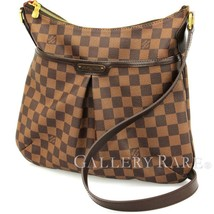 LOUIS VUITTON Bloomsbury PM Damier Ebene N42251 Shoulder Bag Authentic 5... - $1,137.48