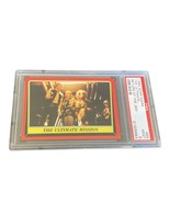 Star Wars Topps Trading Card PSA 9 vtg graded Mint #99 Mission Chewbacca... - $494.95