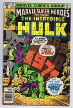 Marvel Super Heroes #85 ORIGINAL Vintage 1979 Incredible Hulk - $9.49