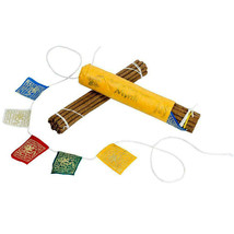 Prayer Flag and Incense Roll - Myrrh - Approximately 30 sticks - $12.38