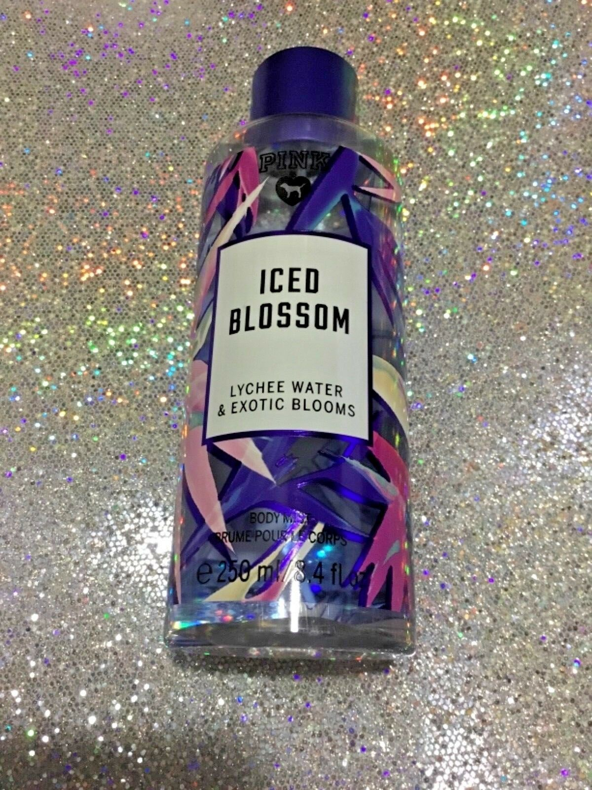 Primary image for Victoria's Secret PINK Iced Blossom Fragrance Body Mist 8.4 oz. NEW
