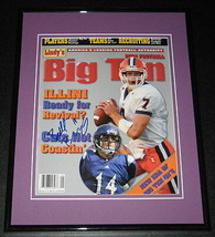 Brett Basanez Signed Framed 2004 Lindy's Big Ten Football Magazine North... - $60.41