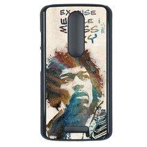 Jimi Hendrix Motorola Moto G3 case Customized premium plastic phone case... - $12.86
