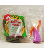 1997 McDonalds Happy Meal Unopened MIP - #2 Hercules – ZEUS and ROCK TITAN - £5.54 GBP