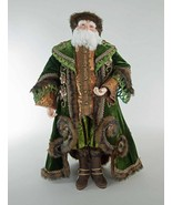 katherine's collection green Santa Claus Spiced 3 foot tall fabulous 28-... - $639.99