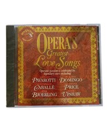 Various Artists : Opera's Greatest Love Songs / Various Opera/Operetta 1... - $8.90