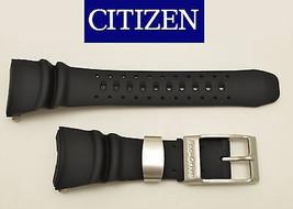 Citizen Eco-Drive Original DIVERS Watch Band  BLACK Rubber Strap  BJ805... - $86.95