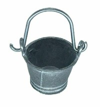 Mini Metal Bucket with Movable Handle, Bucket for Well, Fairy Garden Acc... - $5.49