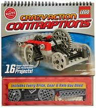 Klutz LEGO Crazy Action Contraptions Craft Kit - $20.91