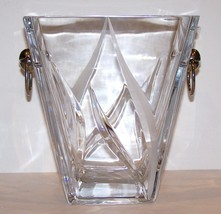 "Stunning Large Very Rare Mikasa Crystal Flame D""Amore Champagne BUCKET/CHILLER - $272.24"