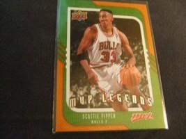 2008-09 Upper Deck MVP #246 Scottie Pippen -Chicago Bulls- - $3.12