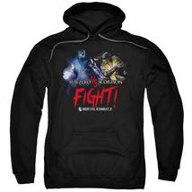 Mortal Kombat X - Fight Adult Pull Over Hoodie Officially Licensed Apparel - $34.99+