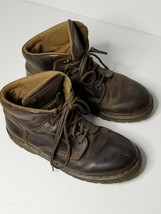 Dr Martens Mens Sz 10 UK; US 11 N Boots Brown Leather G7734NS - $39.59