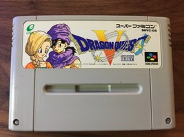 Dragon Quest 5 V SHVC-D5 Super Nintendo SNES Super Famicom SFC - $9.16