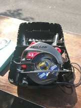 """Skil 7 1/4"""" circular saw 5490 12A w/case NEW Made in USA - $35.00"""