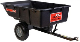 Utility Cart 850 lb. 17 cu. ft. Tow-Behind Poly Brush Firewood Garden To... - $6.376,41 MXN
