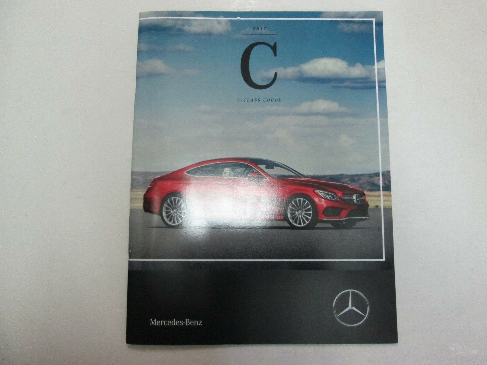 Primary image for 2017 Mercedes Benz C Klasse Coupe Sales Prospekt Manuell Fabrik OEM Buch 17 Deal