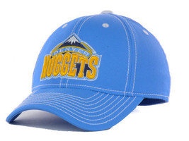 Denver Nuggets adidas M401Z Basketball Team Stretch Fit Cap Hat - $19.99