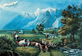 Rocky Mountains by Nathaniel Currier - Art Print - $19.99+