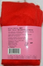 Angelina Girl's Fashion Tights Size SS Style 001 Red Color image 2