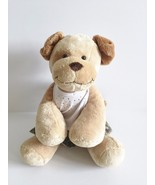 Build A Bear Girl Golden Spotted Puppy Dog With Limited Too White Halter... - $5.68