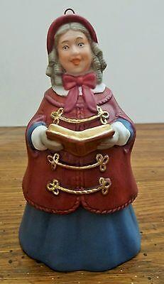 Hallmark Keepsake 2nd Dickens Caroler Bell Series Mrs. Beaumont 1991  EUC