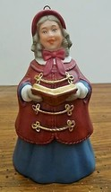 Hallmark Keepsake 2nd Dickens Caroler Bell Series Mrs. Beaumont 1991  EUC - $5.93