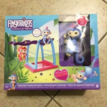 WowWee Fingerlings Playset Monkey Bar Playground Exclusive Liv Baby Monk... - $25.25