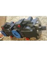HRL057B - Sauer Danfoss / Sundstrand  Double Hydraulic Pump, 3.48 cu.in3... - $4,999.99