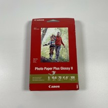"Canon PP-301 Photo Paper Plus Glossy II (4 x 6"", 100 Sheets) 1432C006 - $12.34"
