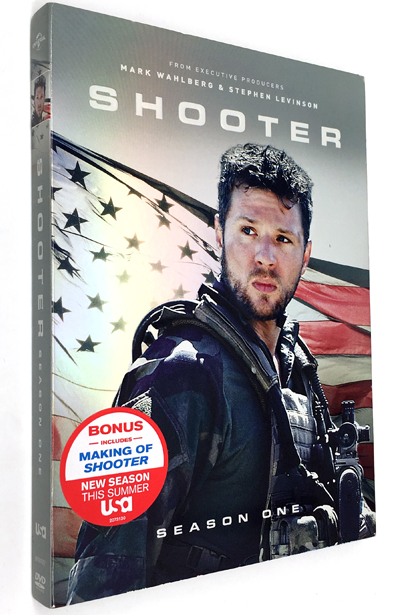 Shooter The Complete First Season 3 DVD Box Set 2 Disc Free Shipping New