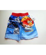 Angry Birds Star Wars Toddler Swim Trunks 2T Blue Red Bird Yoda Piggies ... - $10.40