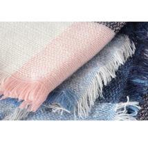 Hot Fashion Warm Cashmere Plaid Blanket Women's Warp Scarf Pashmina Shawl image 12