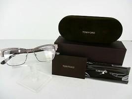 Tom Ford TF 5364 (020) Striated Grey  53 x 15 140 mm Eyeglass Frames - $98.95