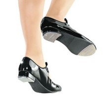 So Danca TA35 Black Toddler Child Size 10 Medium Classic Tie-Up Tap Shoes - $22.76