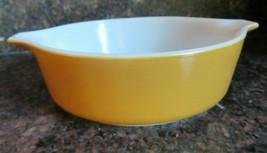 Vintage Pyrex Ovenware ~  Brown ~ Round Casserole Dish ~ #471 ~ 1 Pint - $3.96