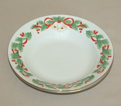 2 Sango Noel Soup Bowls 8401 Christmas Holly Porcelain 1990 - Several Available - $9.85