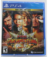 Fire Pro Wrestling World Day One Edition PS4 Video Game New and Unwrapped - $37.49