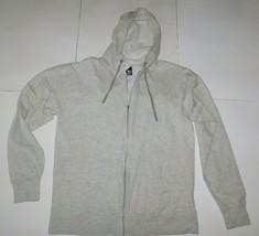 Standard Supply Oatmeal Slim Fit Fleece Zip Front Hoodie Size X-Large BNWT - $24.99