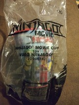 The Lego Ninjago Movie #6 Holographic Cup 2017 Mc Donalds Happy Meal Toy Nip - $8.99