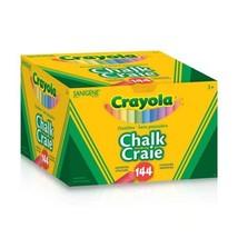 Crayola 144 Coloured Sanigene Dustless Chalk, School and Craft Supplies,... - $21.34