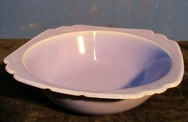 Vintage Homer Laughlin Riviera 8 Inch Round Vegetable Bowl Mauve Blue - $19.79